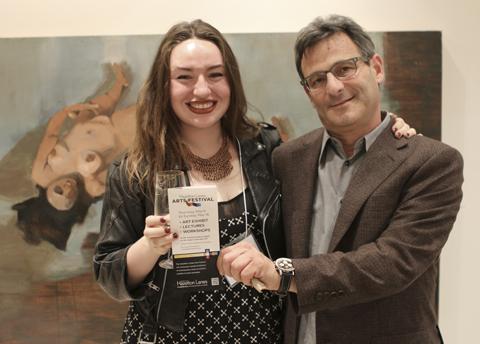 Alexandra Louise Beriault with Dori J. Segal. Photo by Paul Savaria.