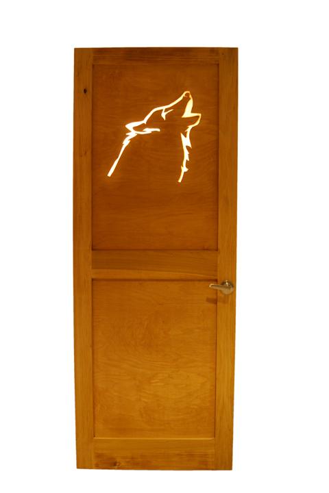 Wolf Door Light from Symbolic by Ocean Fukuda.