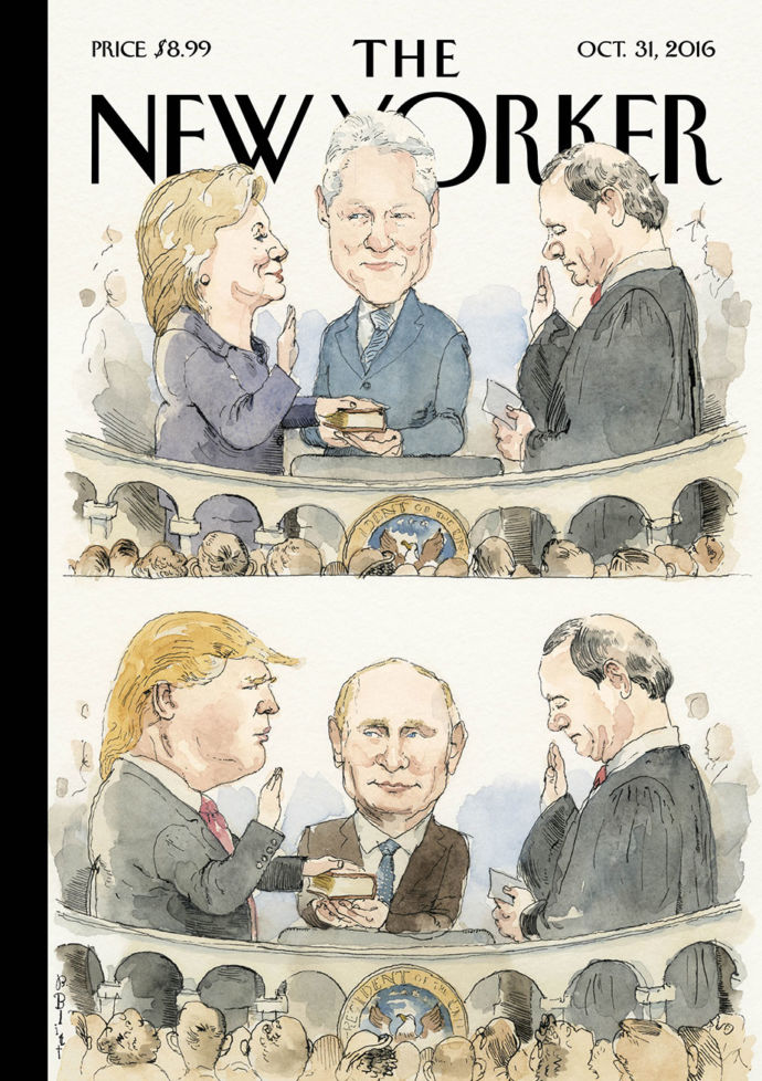 Image of New Yorker cover