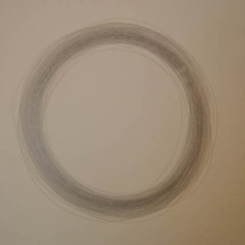 Circle drawing by Nicole Collins. Image by Nicole Collins