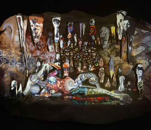 The Cave Painter, 2013. Courtesy the artist and Jessica Bradley Gallery. Photo by Rafael Goldchain