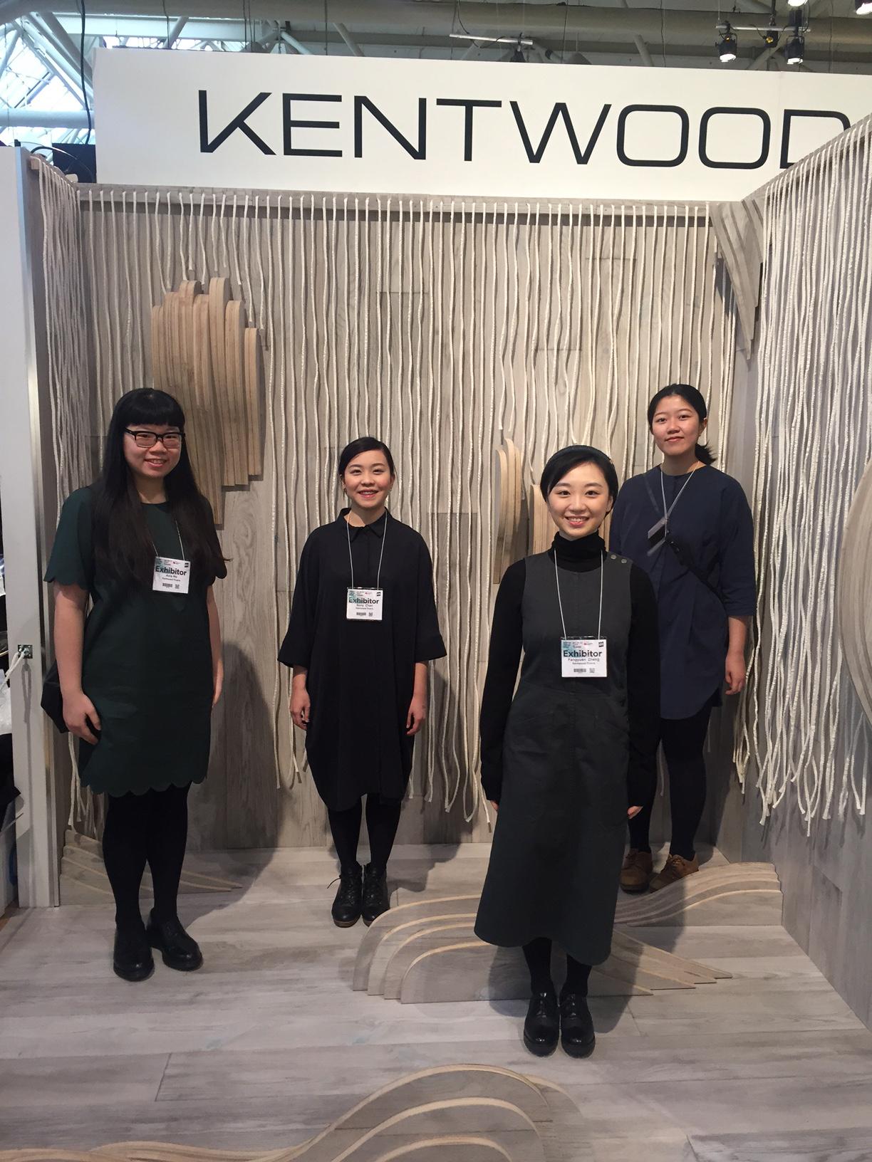 Second Place Winners Avis Ho (MAAD), Sony Chen (ID), Annie Zheng (ID),  Iris Ho (ED)