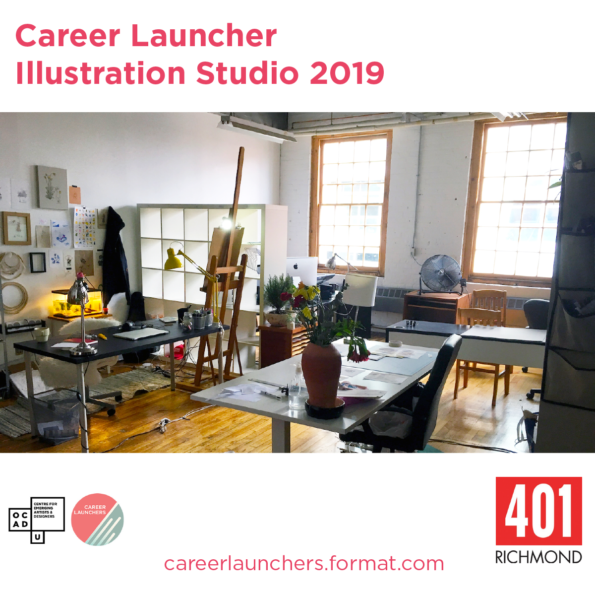 OPPORTUNITY DESCRIPTION  DEADLINE: Monday, April 22, 2019  The Centre for Emerging Artists & Designers is excited to bring back