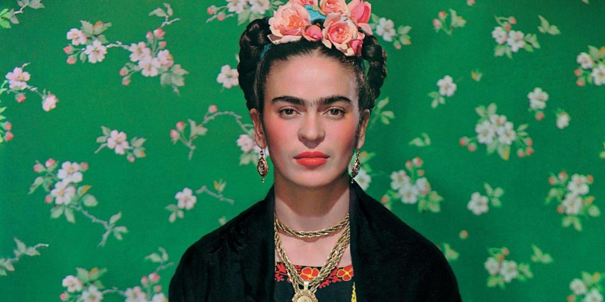 Portrait of the artist Frida Kahlo
