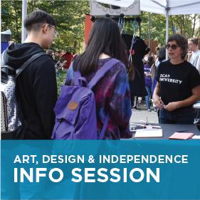 Art, Design & Independence Info Session