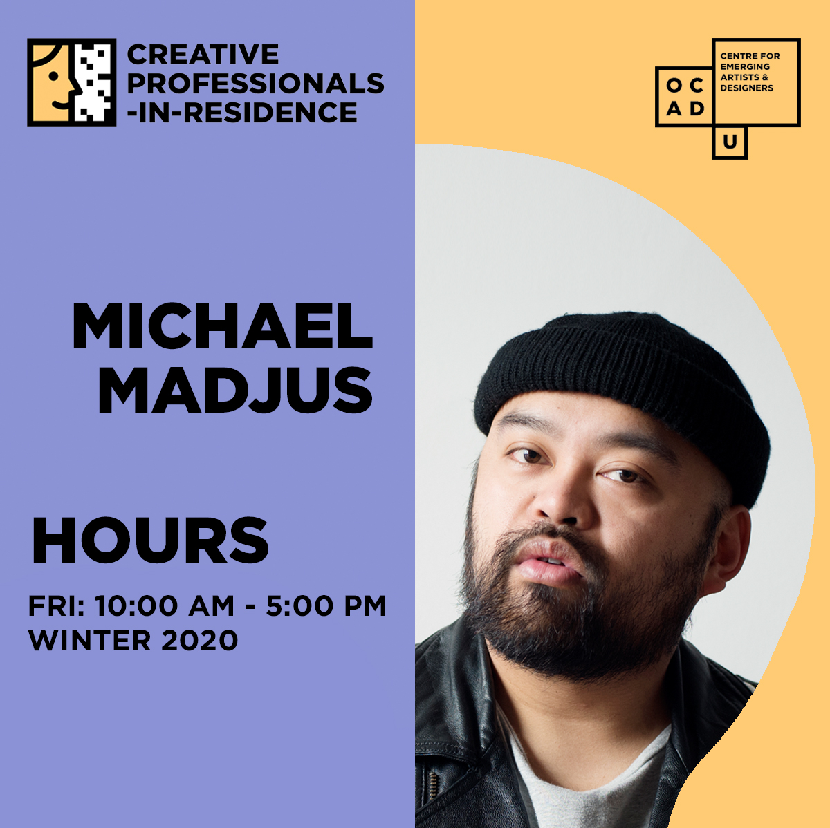 Michael Madjus I | Creative Professional-in-Residence