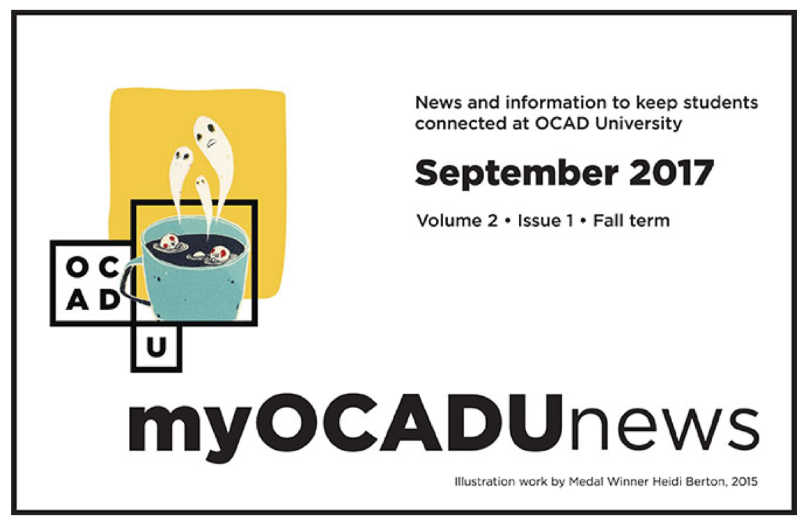 myOCADUnews - September 2017