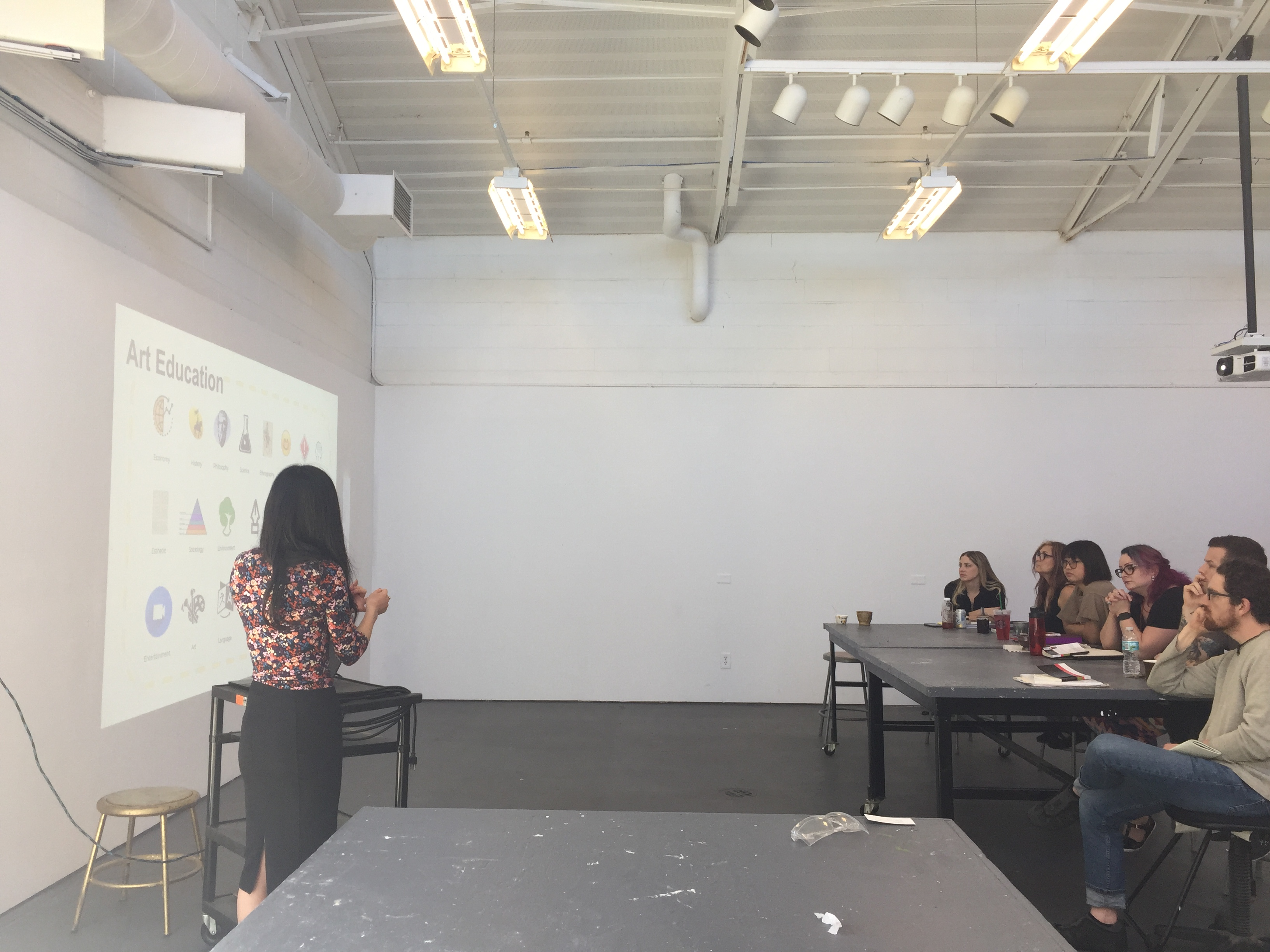 sfi student kyoko ariyoshi guest lecture at florida atlantic uni
