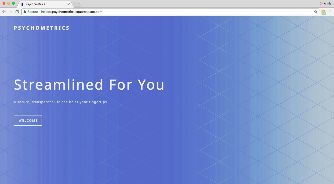 Psychometrics Website