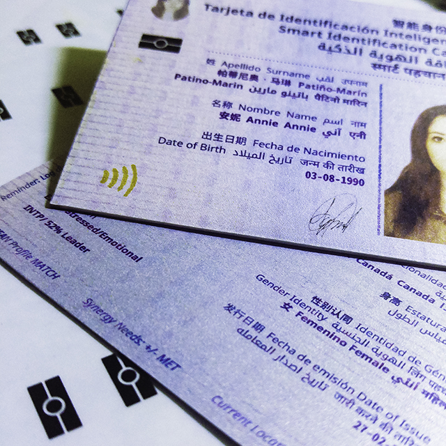 Smart ID Card (Psychometrics System)