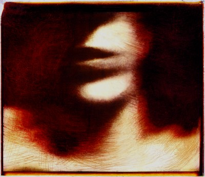close up crop photo of a woman's face