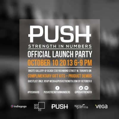 PUSH & Sprout Guerrilla Launch Party