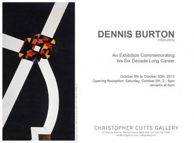 Remembering Dennis Burton