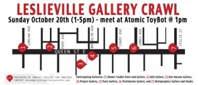 Leslieville Gallery Crawl