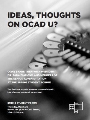 Spring Student Forum Poster