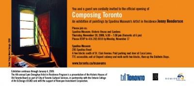 Composing Toronto
