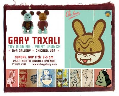 Gary Taxali at DvA Gallery in Chicago