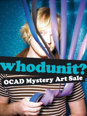 Whodunit? OCAD Mystery Art Sale