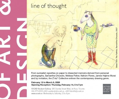 line of thought invite