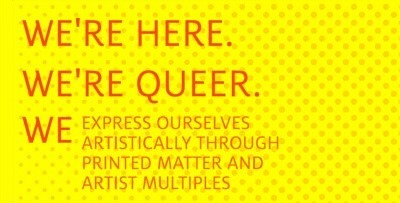 Queer Print Club drop-in graphic