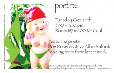 Poetry Reading Poster