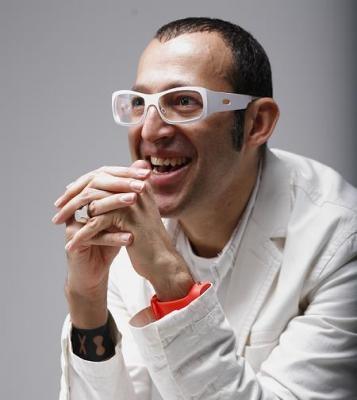 Karim Rashid; photo by Milovan Knezevic