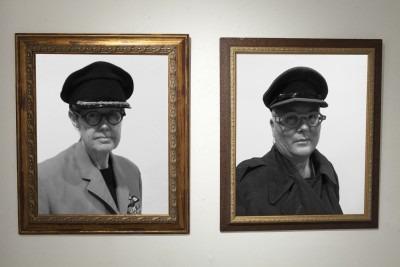 framed photos of Generals