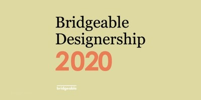 Bridgable logo with 2020 on yellow background.