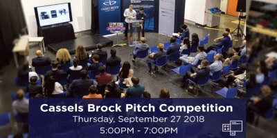 Cassels Brock Pitch Competition