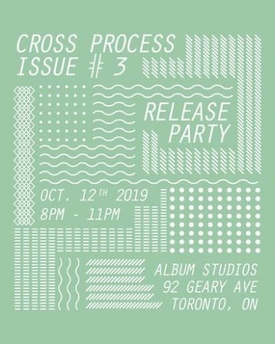 Poster for Cross Process Issue 3 launch