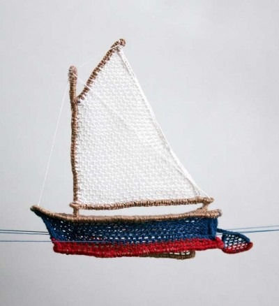 Lace Sailboat