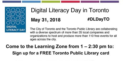 Digital Literacy Day in Toronto May 31