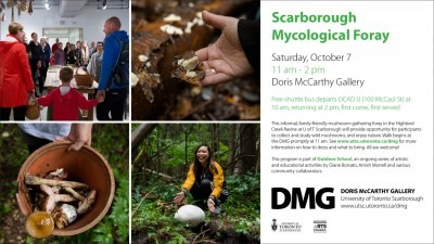 Scarborough Mycological Foray Invite