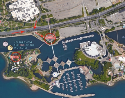 Map of Ontario Place