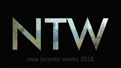 NTW letters/logo on black background