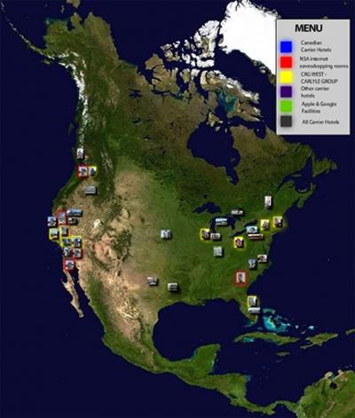 screenshot of North America