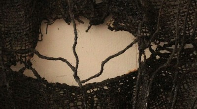 photo detail of textile artwork