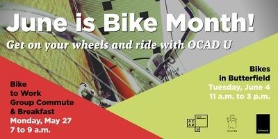 June is Bike Month! Ride with OCAD U