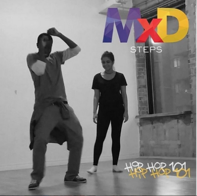 O-NIGHT event image showing dancers from MxD - OCAD Dance group