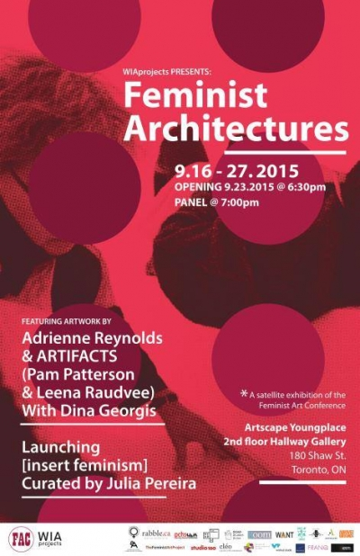 Poster for Feminist Architectures
