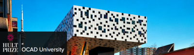 Image of the Sharp Centre for Design during the day