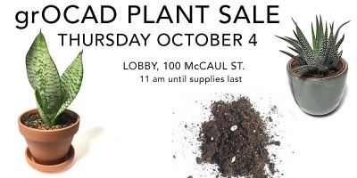 grOCAD Plant Sale