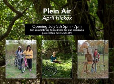 Invitation to Plein Air by April Hickox