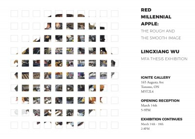 exhibition information poster