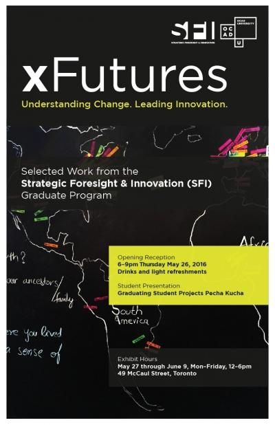 xFutures Exhibition poster