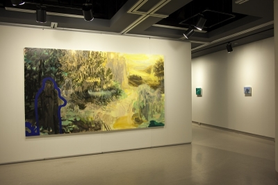 Image of painting in a gallery