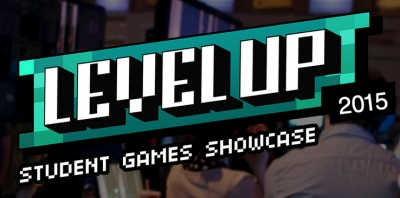 Level Up Logo on Image