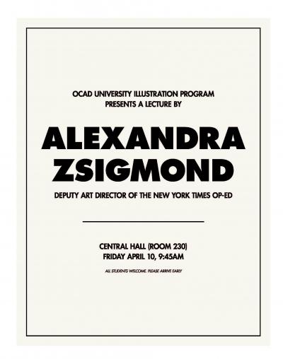 Alexandra Zsigmond poster
