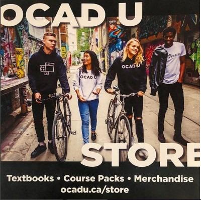 OCAD U Store graphic