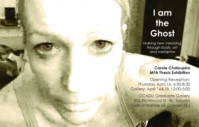 Carole Chaloupka: I am the Ghost poster